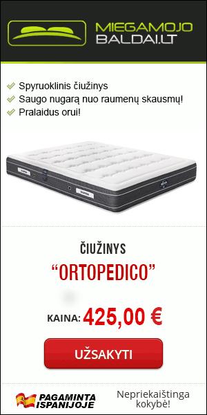 """Čiužinys """"Ortopedico"""""""